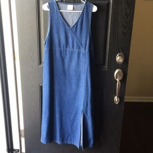 Vintage 90s Denim Boho Summer Dress